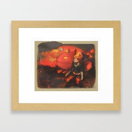 Care for you and Cry for you - [Mother 3] Framed Art Print