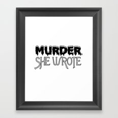 MSW Framed Art Print