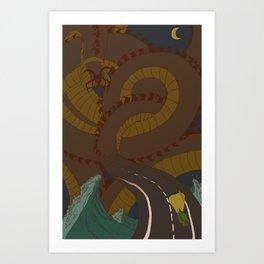 road hypnosis Art Print
