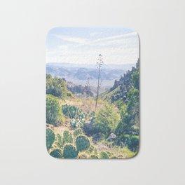 Vibrant Desert Landscape Bath Mat