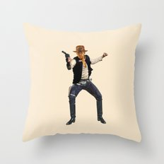 Indiana Solo Throw Pillow