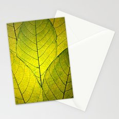 Every Leaf a Flower Stationery Cards