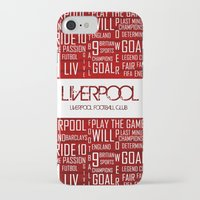 liverpool iPhone & iPod Cases featuring Liverpool Mix by Sport_Designs