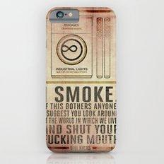 Smoking Bill Hicks… Slim Case iPhone 6s