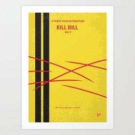 No049 My Kill Bill - part 2 minimal movie poster Art Print