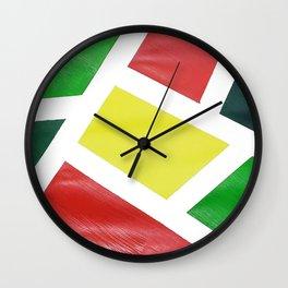 Geo Mod Wall Clock