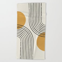 Sun Arch Double - Gold Beach Towel
