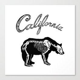 Golden State XRAY Canvas Print