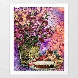BIRTHDAY WISHES Art Print