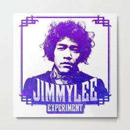 Jimmy Lee - Purple Metal Print