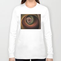 fractal Long Sleeve T-shirts featuring Fractal by gabiw Art