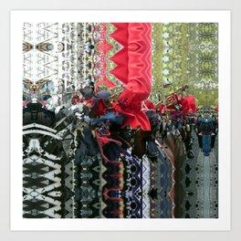 P1460038 _P1460043 _P1460048 _P1460053 _XnView Art Print