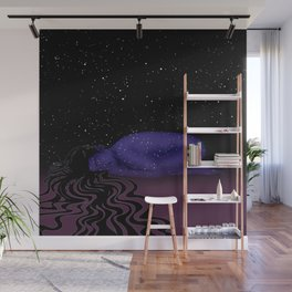 Nuit, The Lady of the Stars Wall Mural