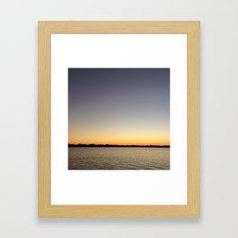 your shooting star Framed Art Print