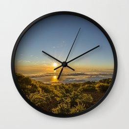La Palma sunrise Wall Clock