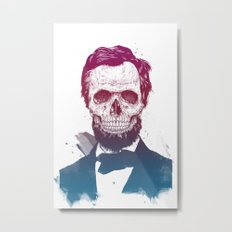 Dead Lincoln Metal Print