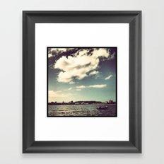Port of Laguna Framed Art Print