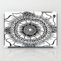 henna iPad Cases featuring Flower henna  by Designs by NN