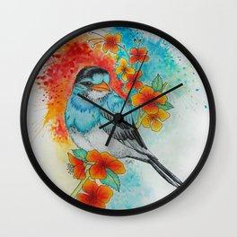 Imaginary Bird 1 Wall Clock