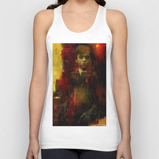 The ghost of the room 303 Unisex Tank Top
