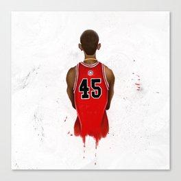 Barack OJordan Canvas Print