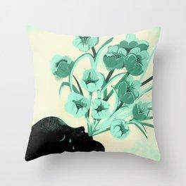 Bonjour tristesse Throw Pillow