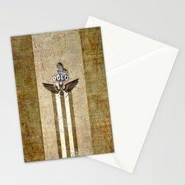 poloplayer golden_ocher Stationery Cards