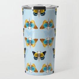 Bird skull pattern Travel Mug
