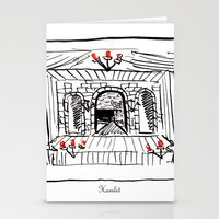 hamlet Stationery Cards featuring Hamlet by Foxfocus