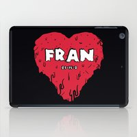 crossfit iPad Cases featuring Love Fran by Daniel Thompson