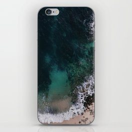 ocean blues iPhone Skin
