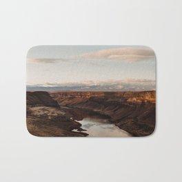 Snake River, Idaho - Scenic Desert Canyon Bath Mat
