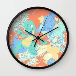 Hoenn starters Wall Clock