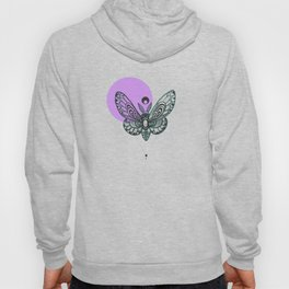 Doodle Moth* Hoody