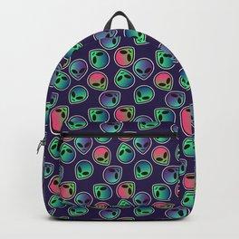 Alien Pattern Backpack