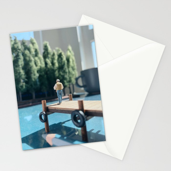 Peaceful Summer Stationery Cards