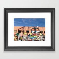 Street Things  Framed Art Print
