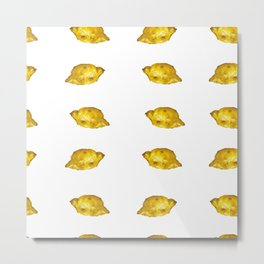 Lemony mood Metal Print