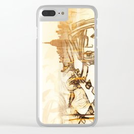 Croft Geisha Clear iPhone Case
