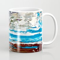 lake Mugs featuring Lake by Claudia McBain