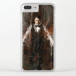 Staring Clear iPhone Case
