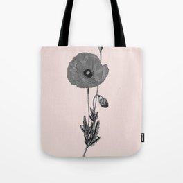 One flower one love in pink Tote Bag
