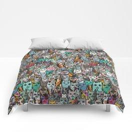 Gemstone Cats Comforters