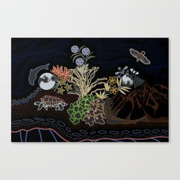 Sister Worlds Canvas Print