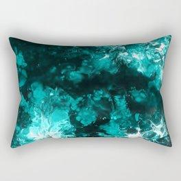 Fantasy Blue Clouds Rectangular Pillow
