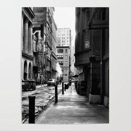 Moravian Street Poster