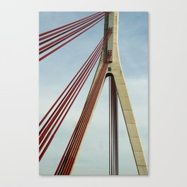 Bridge architecture Canvas Print
