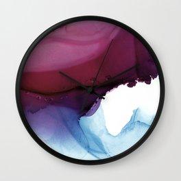 Shades of Purple Wall Clock