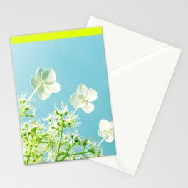 Retro tint Hydrangea Stationery Cards