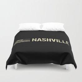 Black Flag: Nashville Duvet Cover
